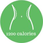 1200 calories