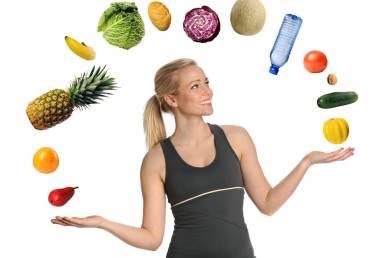 Manger des repas équilibrés pour rester en forme
