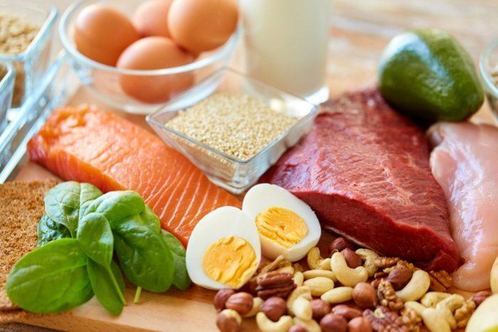 Manger plus de protéines maigres
