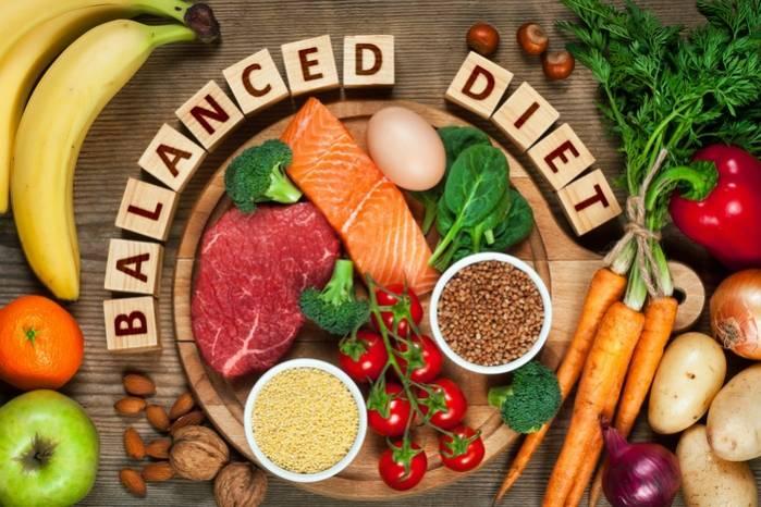 Une alimentation équilibrée et variée
